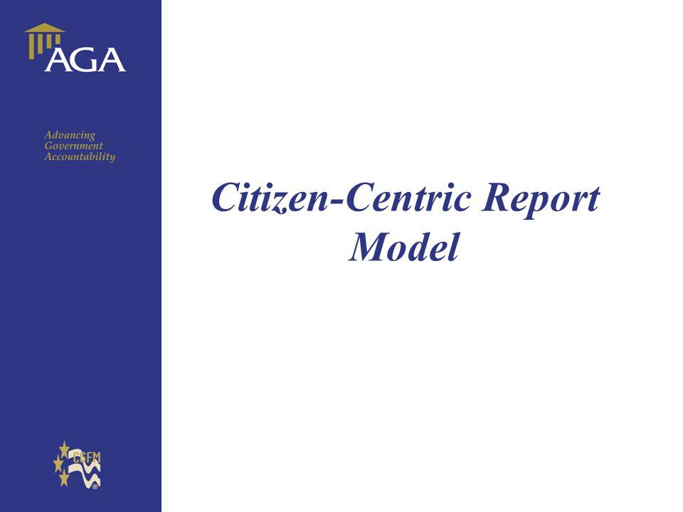 General title Citizen-Centric Report Model