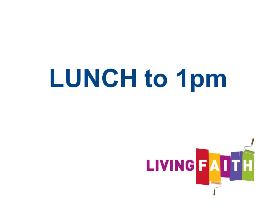 LUNCH to 1pm 54