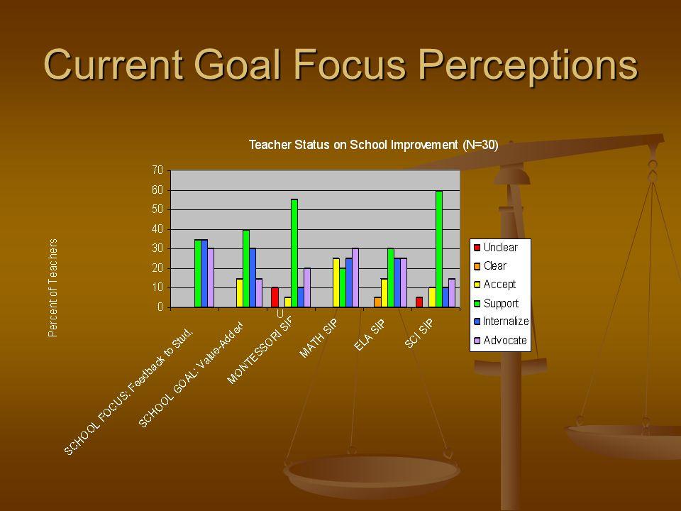 Current Goal Focus Perceptions