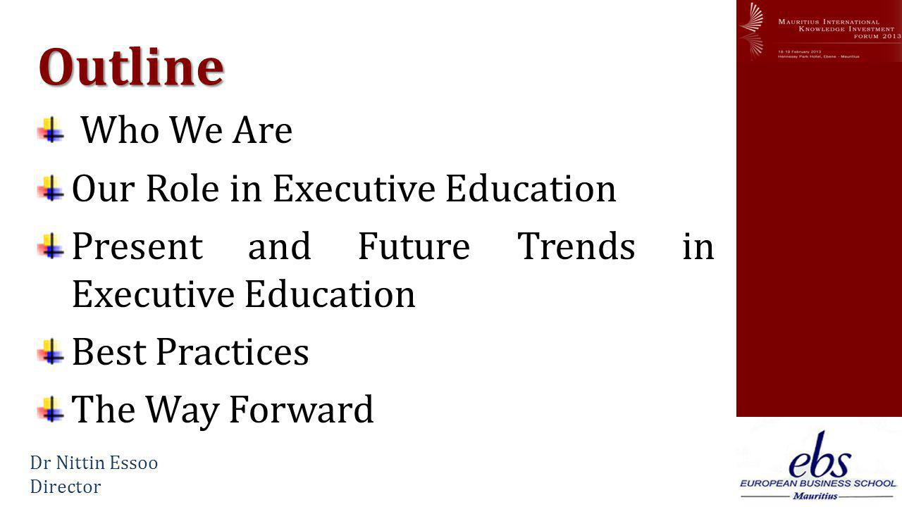www.mikif.com Conclusion A new paradigm for Executive Education A new paradigm for Executive Education Meeting the needs of the market Meeting the needs of the market Risk of overpricing Risk of overpricing World class programs World class programs