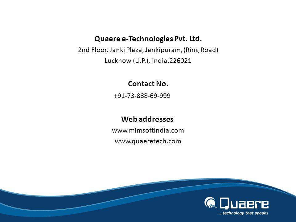Quaere e-Technologies Pvt. Ltd.