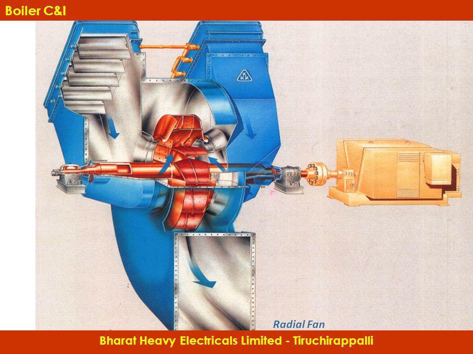 Radial Fan Bharat Heavy Electricals Limited - Tiruchirappalli Boiler C&I