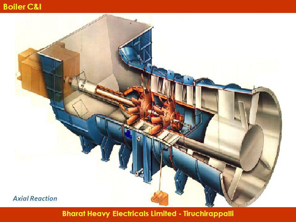Axial Reaction Bharat Heavy Electricals Limited - Tiruchirappalli Boiler C&I