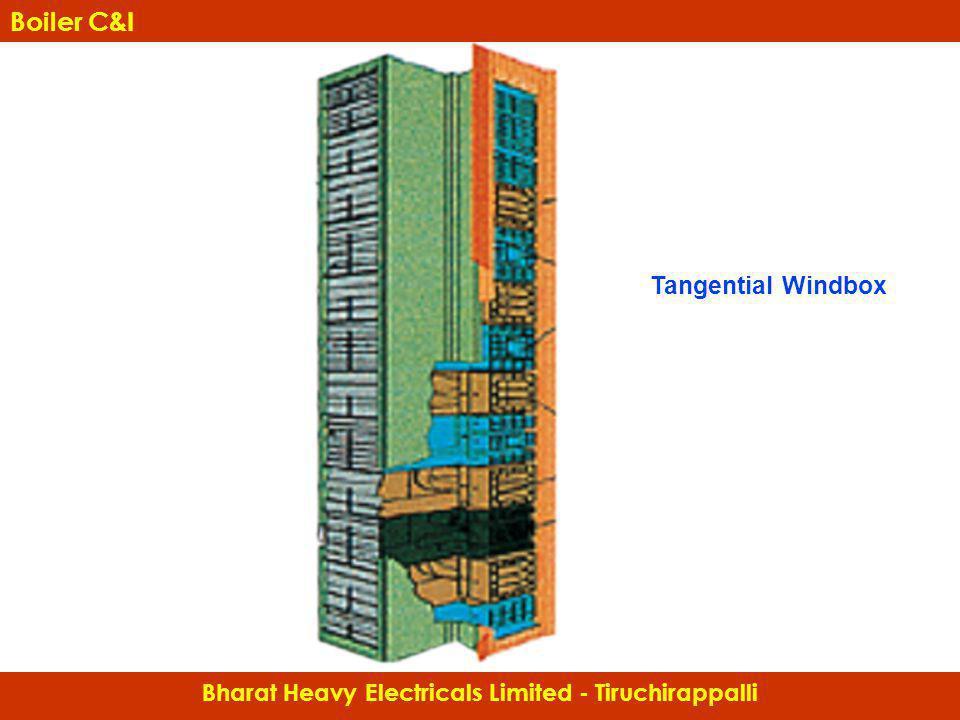 Tangential Windbox Bharat Heavy Electricals Limited - Tiruchirappalli Boiler C&I