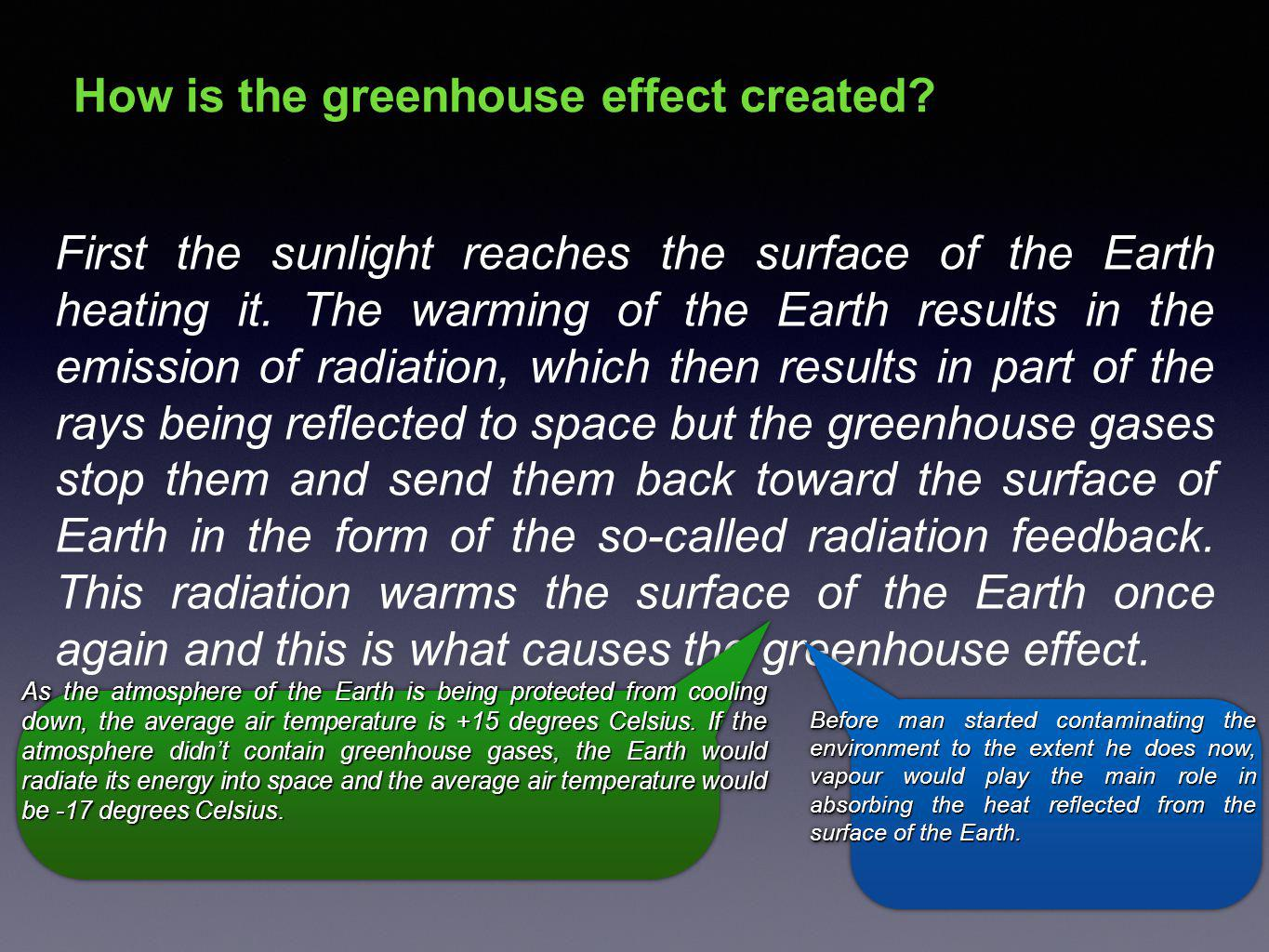 Greenhouse gases Greenhouse gases are volatile chemical substances occurring in the atmosphere.