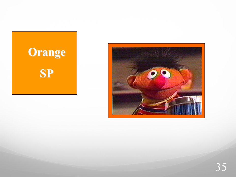 Orange SP SP 35