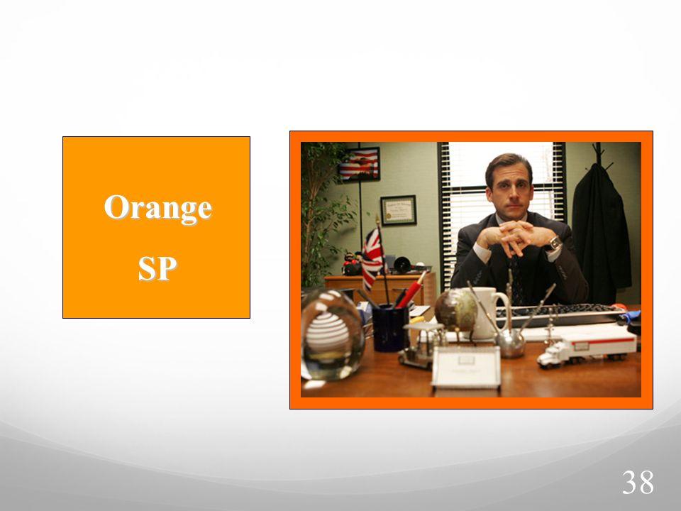 Orange SP SP 38