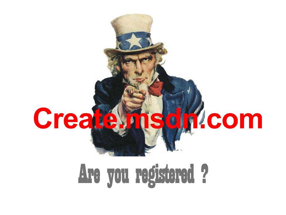 Create.msdn.com