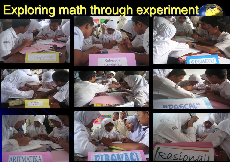 Exploring math through experiment 13