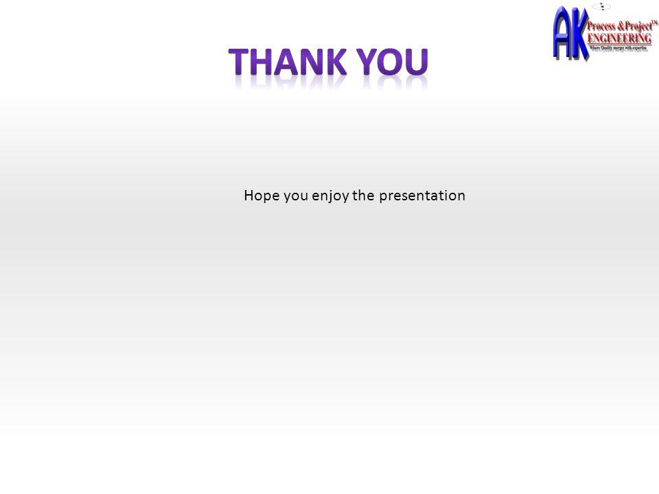 Hope you enjoy the presentation