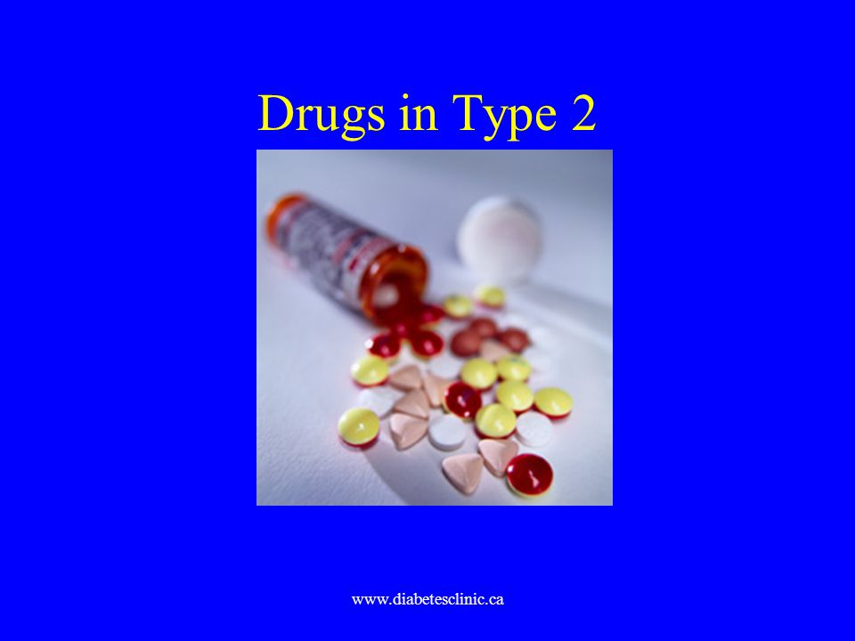 www.diabetesclinic.ca Drugs in Type 2
