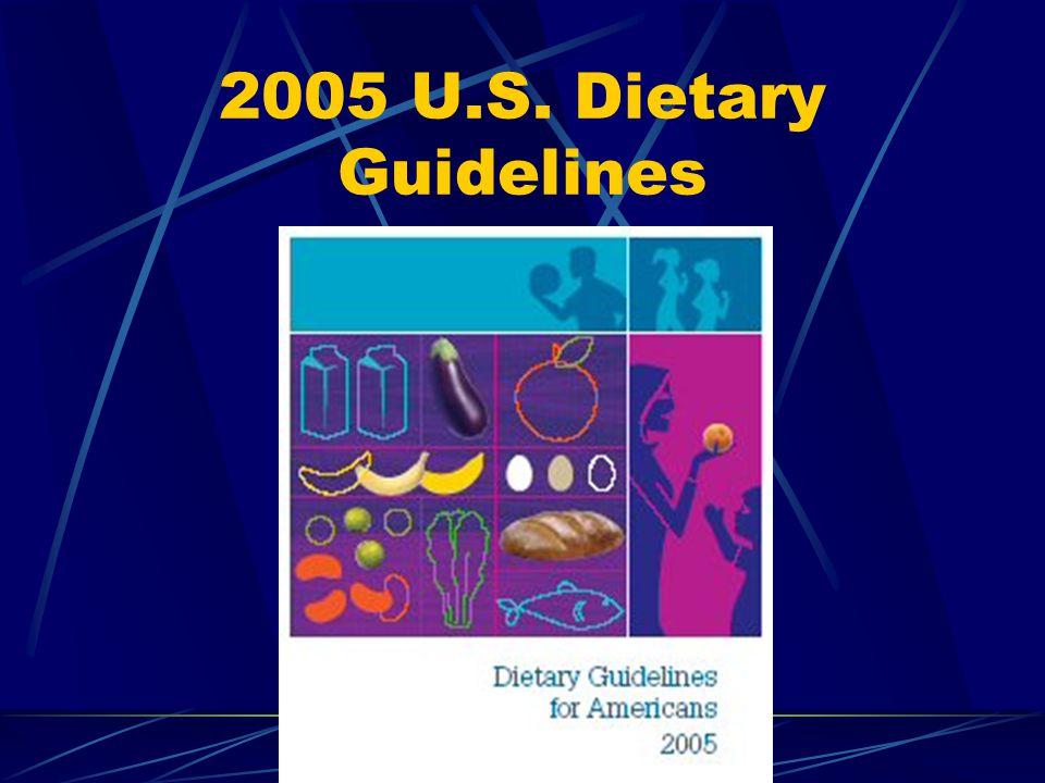 2005 U.S. Dietary Guidelines