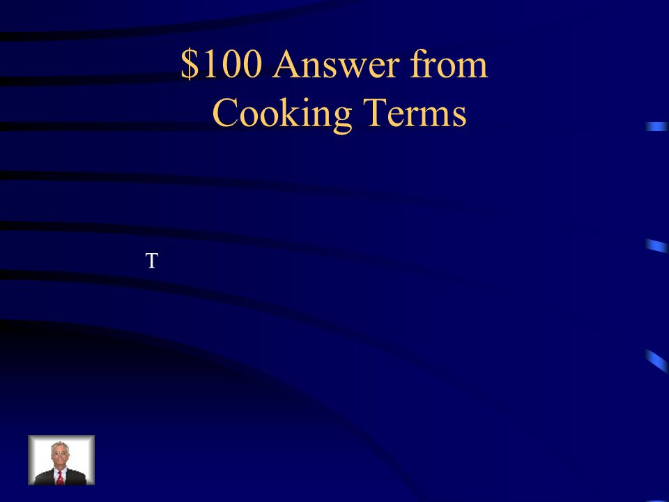 $100 Question from Cooking Terms What is the abbreviation for tablespoon?