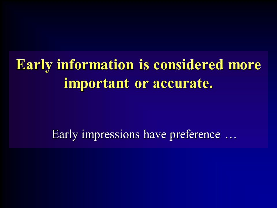Humans seek more information than they can absorb in a given time.