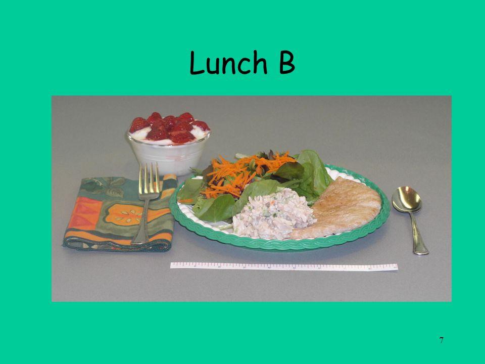 7 Lunch B