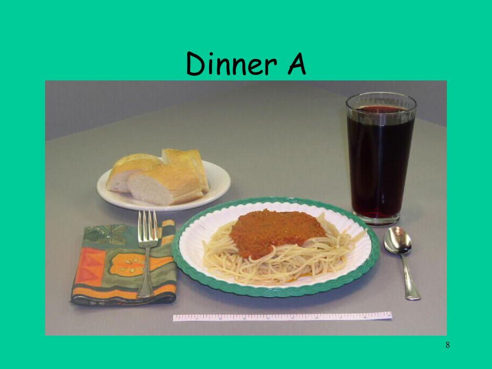 8 Dinner A