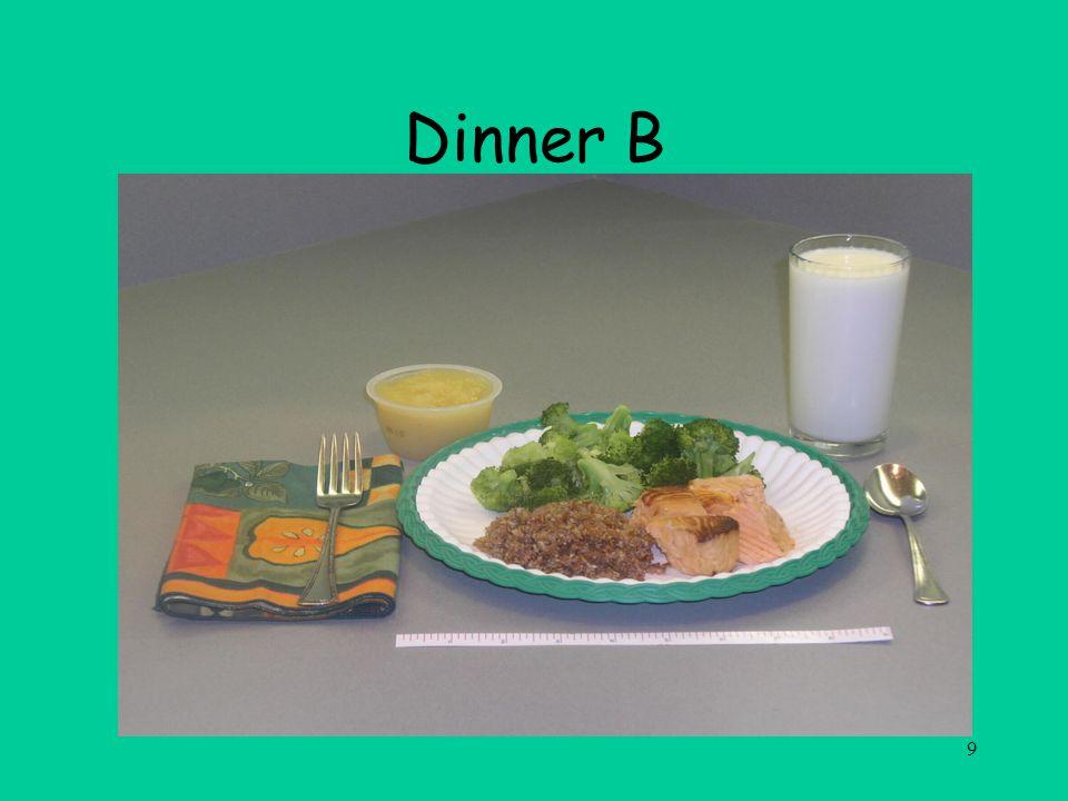 9 Dinner B