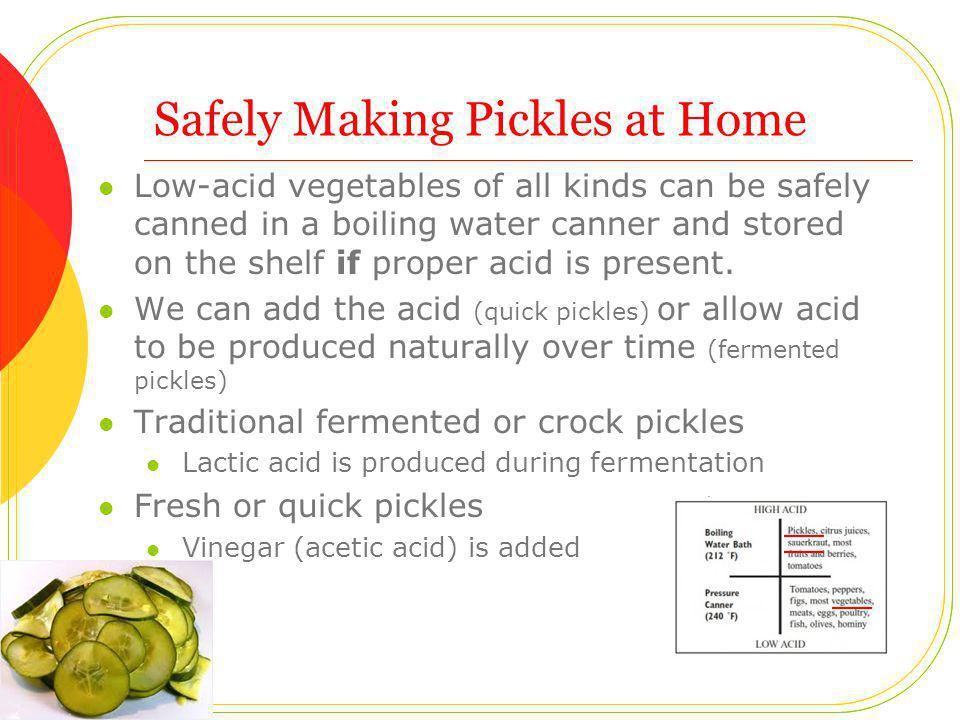 FAQ: Pickles What causes my pickles to have a bitter flavor.