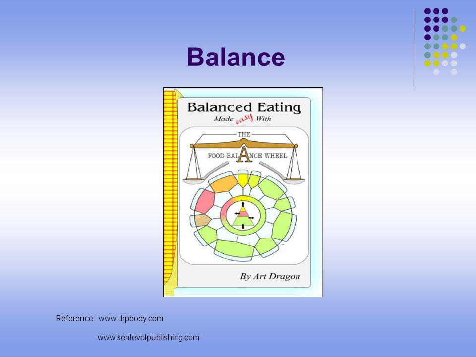 Balance Reference: www.drpbody.com www.sealevelpublishing.com