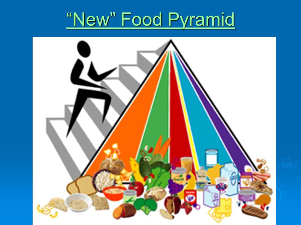 New Food Pyramid New Food Pyramid