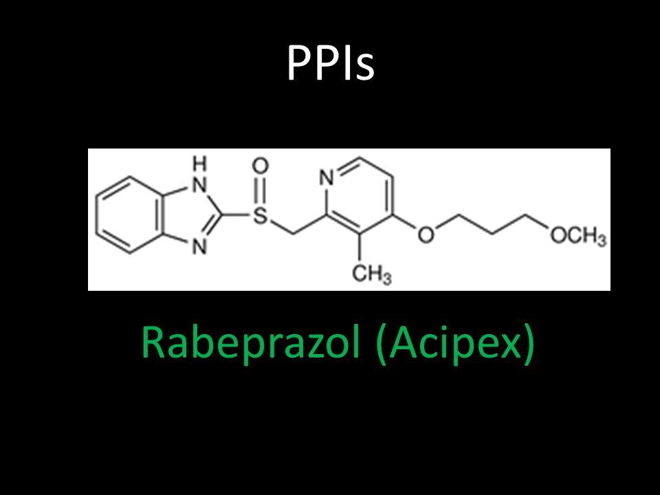 PPIs Rabeprazol (Acipex)