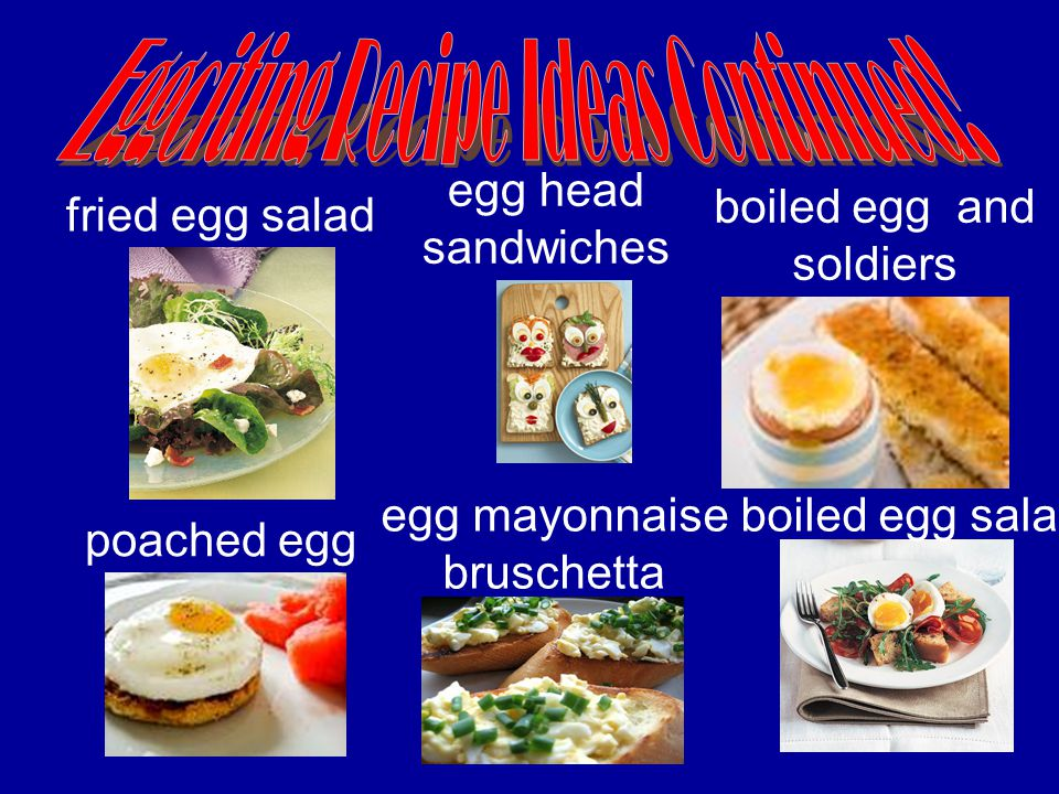 boiled egg salad fried egg salad boiled egg and soldiers egg mayonnaise bruschetta poached egg egg head sandwiches