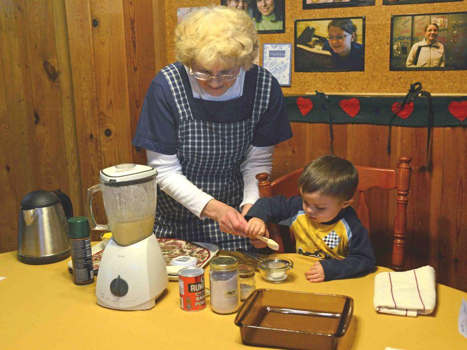 Measuring & Straining the Leavenings & Salt