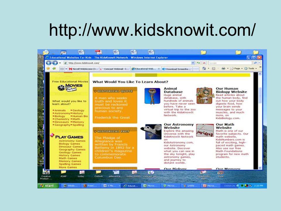 http://www.kidsknowit.com/