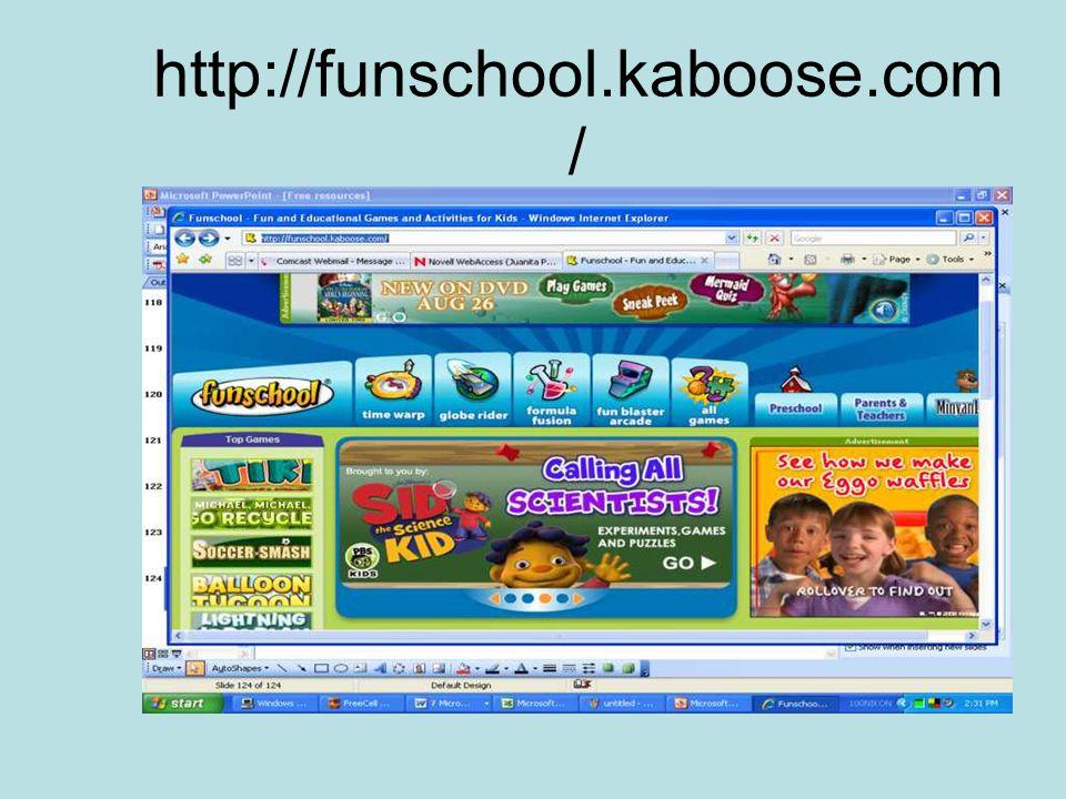 http://funschool.kaboose.com /