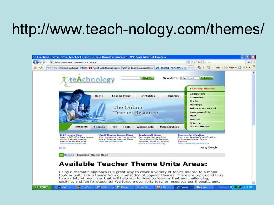 http://www.teach-nology.com/themes/