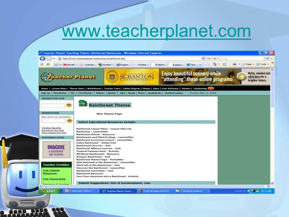 www.teacherplanet.com