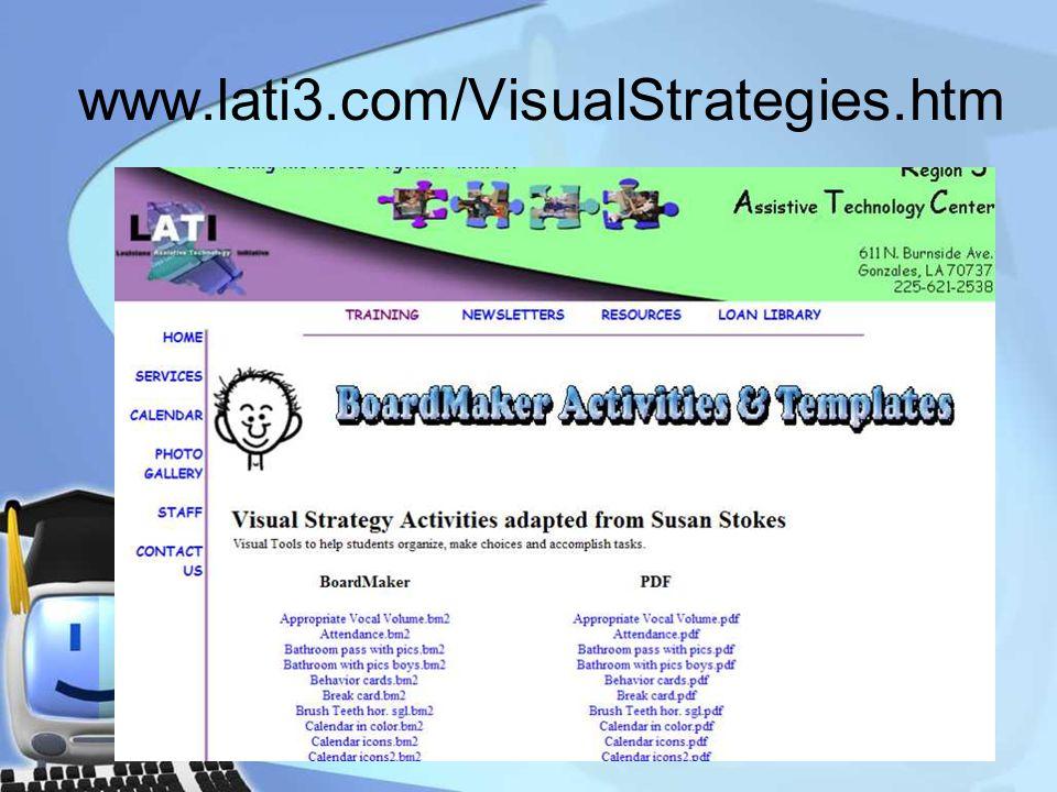 www.lati3.com/VisualStrategies.htm