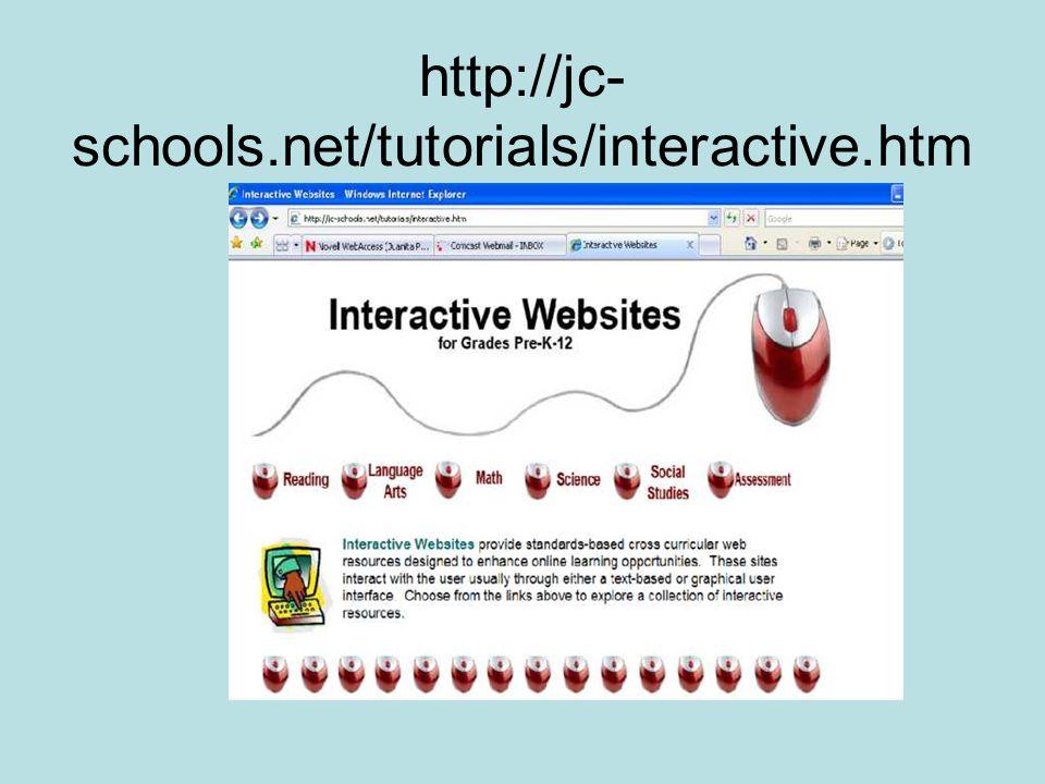 http://jc- schools.net/tutorials/interactive.htm
