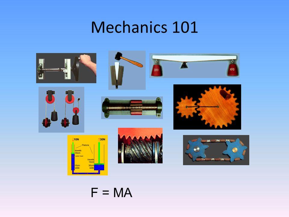 Mechanics 101 F = MA