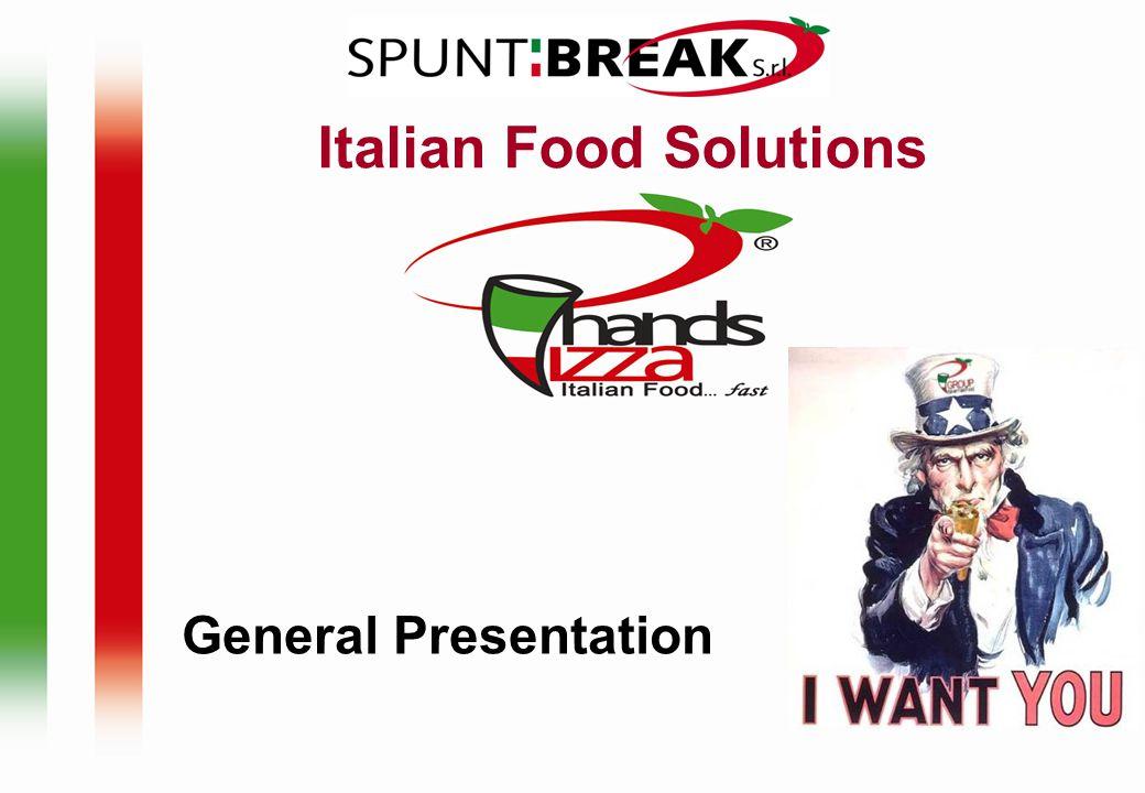 CONTENTS Spuntibreak Group The Brands Happy Food Italian Fast Food Happy Pizza Pizzeria Italiana Mokydea Caffetteria Italiana Pasta e Pizza Italiana advertising Locations samples