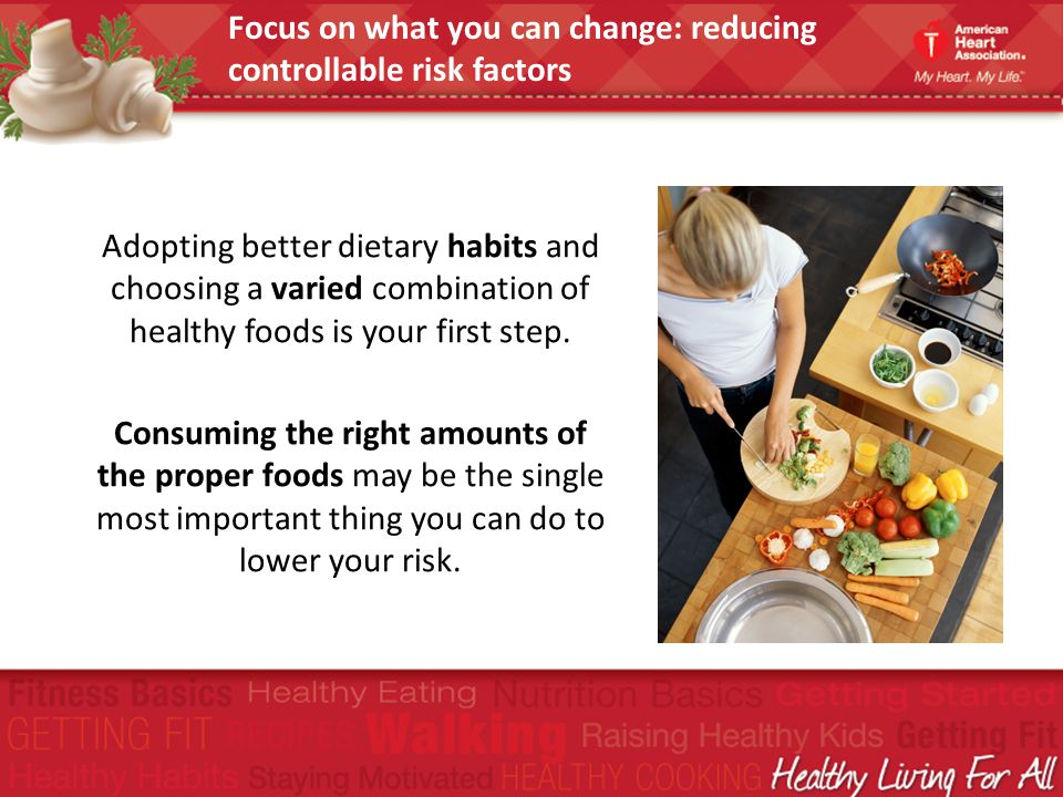 Adopting better dietary habits and choosing a varied combination of healthy foods is your first step. Consuming the right amounts of the proper foods