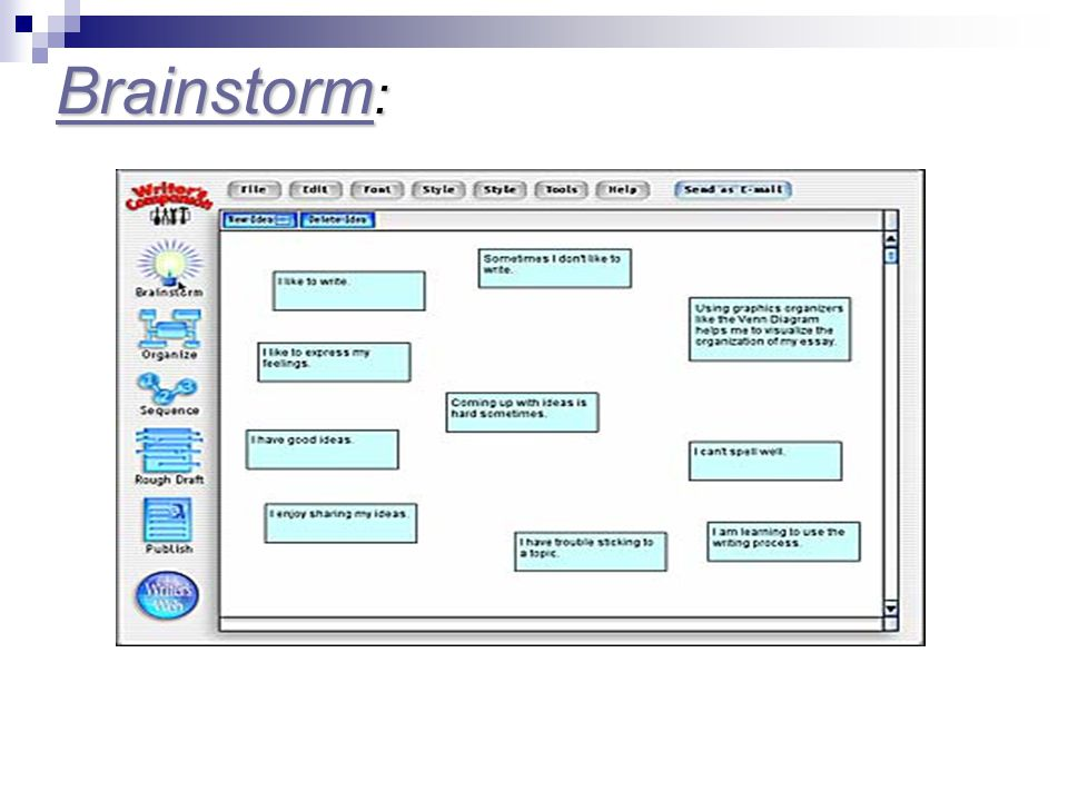 Brainstorm Brainstorm : Brainstorm