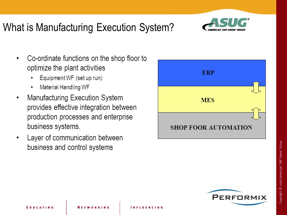 What is Manufacturing Execution System.