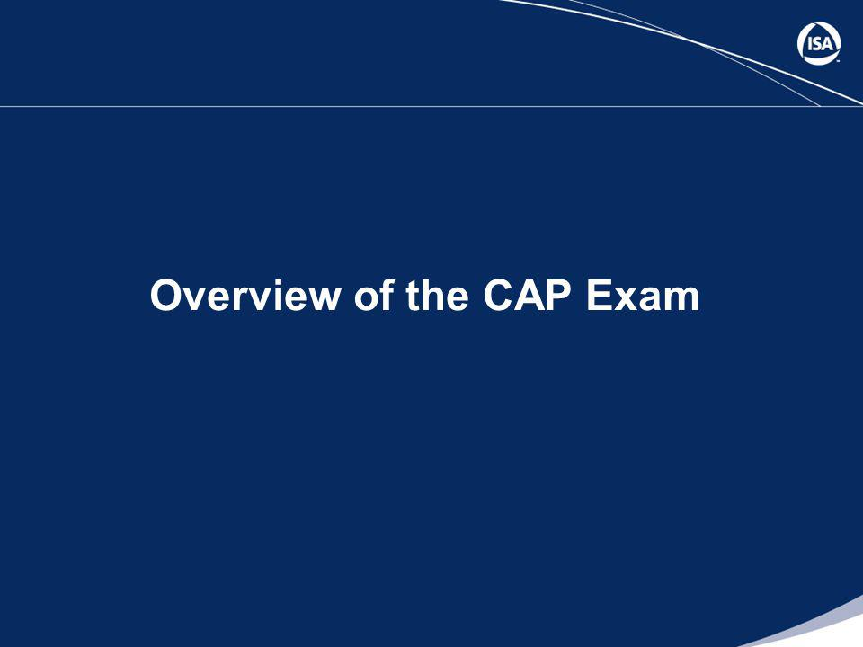 Overview of the CAP Exam