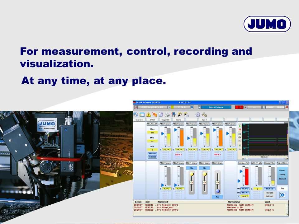 33 Produktbereich / © JUMO Configuration SVS3000 Setting of users Definition of the global dead band in % on the analog process values regarding the selected measurement range.