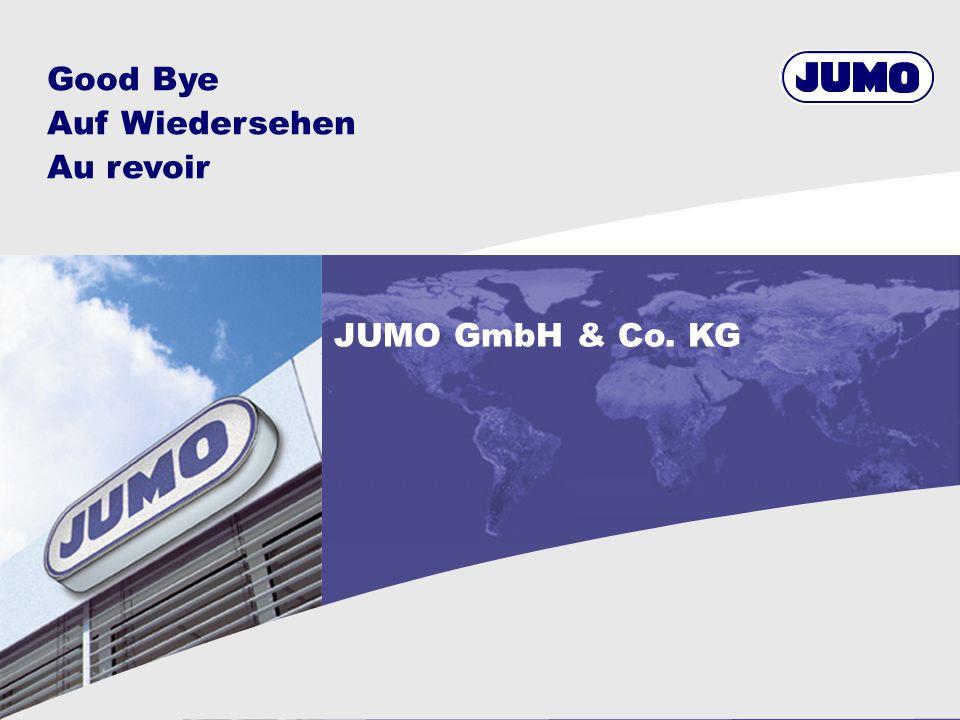 Good Bye Auf Wiedersehen Au revoir JUMO GmbH & Co. KG