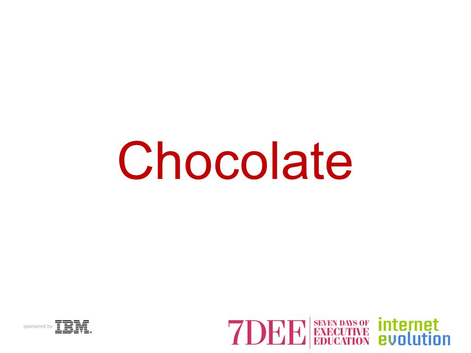 Chocolate Searches Peak During Valentines Day, Christmas Source: Google Insights for Search