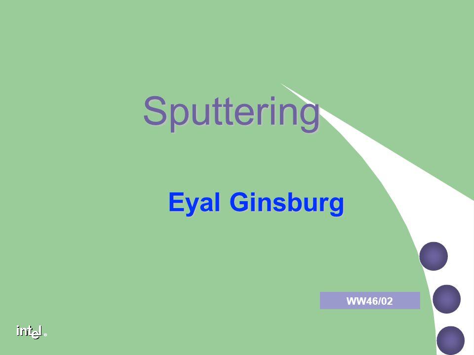 ® Sputtering Eyal Ginsburg WW46/02