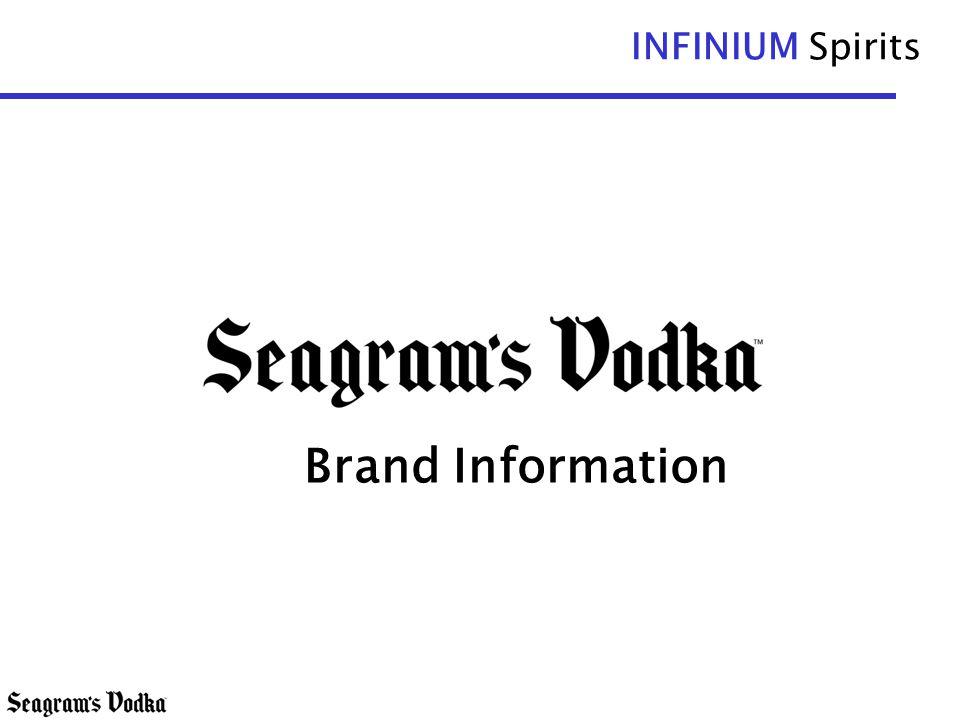 INFINIUM Spirits Brand Information