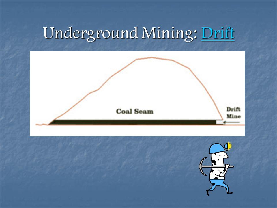 Underground Mining: Drift Drift