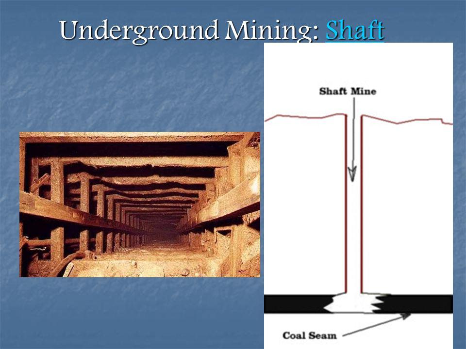 Underground Mining: Shaft Shaft