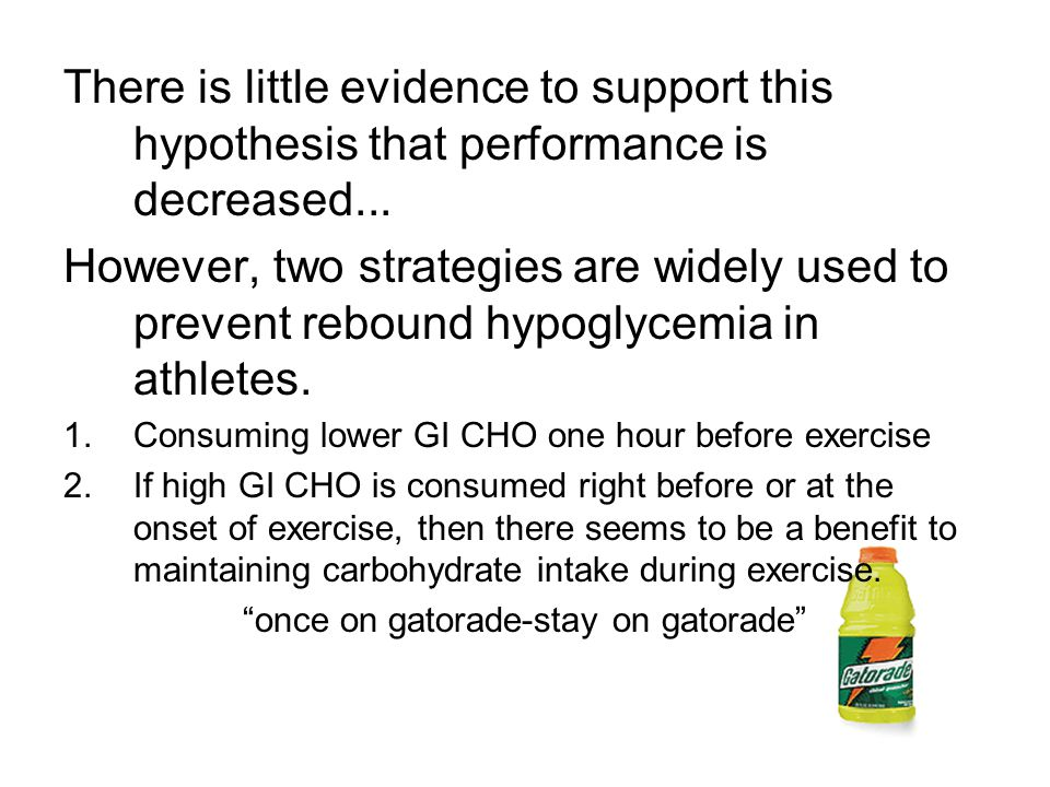 There is little evidence to support this hypothesis that performance is decreased...