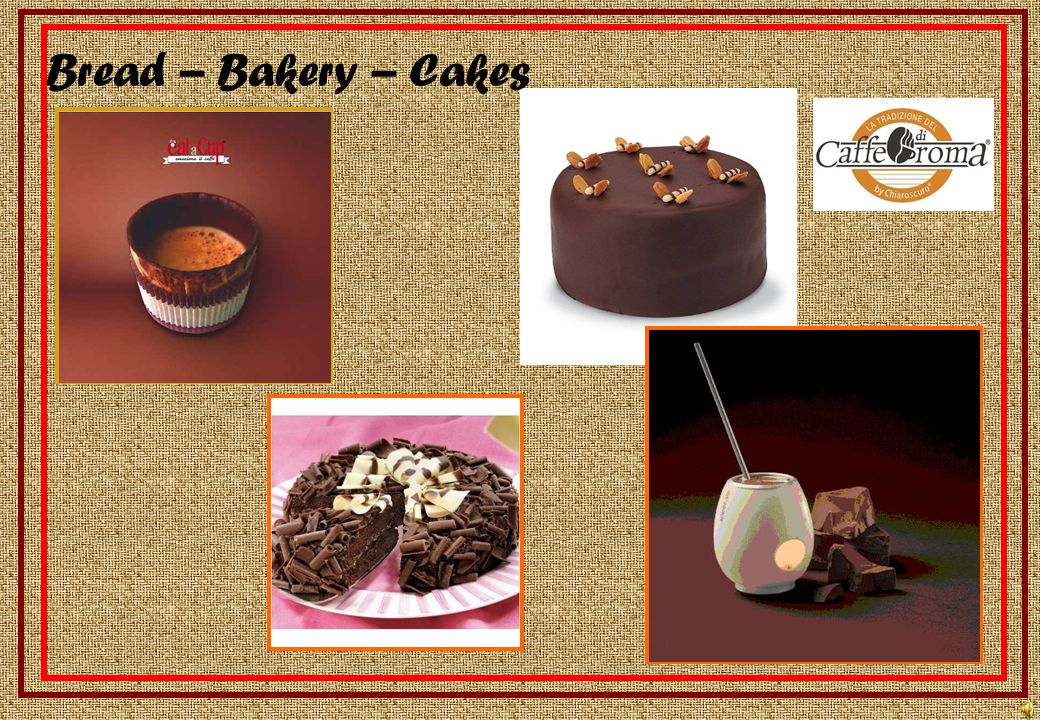 Cafeteria – Gelateria – Pasteleria – Chocolateria Old tradition & state of the art
