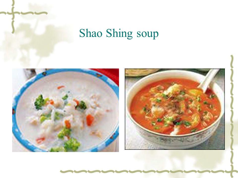 Shao Shing soup
