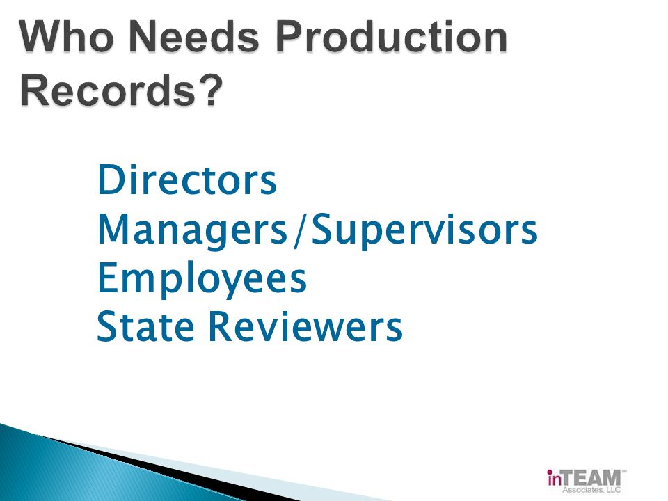 Directors Managers/Supervisors Employees State Reviewers